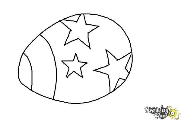 How to Draw an Easter Egg - Step 6