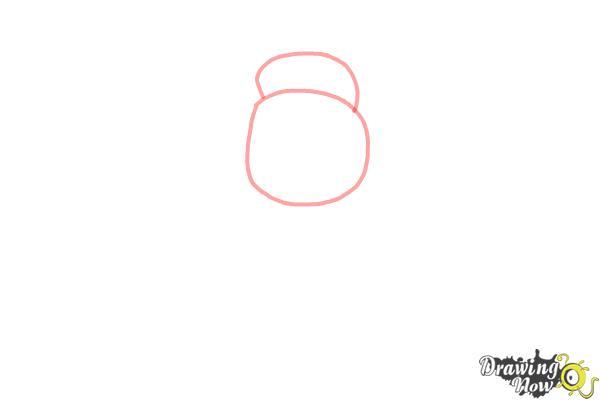 How to Draw Chibi Tiana - Step 1
