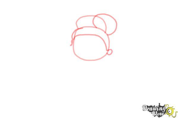 How to Draw Chibi Tiana - Step 2