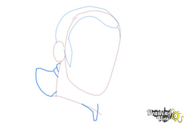 How to Draw Kanan, The Cowboy Jedi from Star Wars Rebels - Step 3