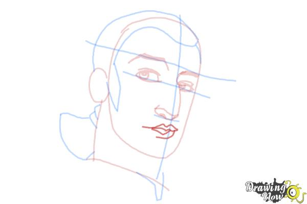 How to Draw Kanan, The Cowboy Jedi from Star Wars Rebels - Step 7