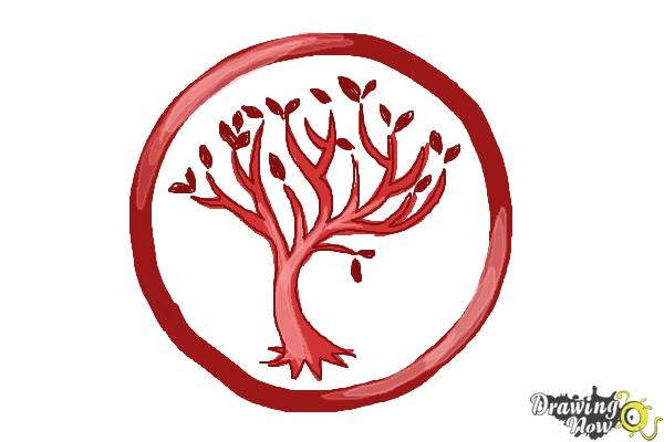 How to Draw Amity, The Peaceful Logo from Divergent ...