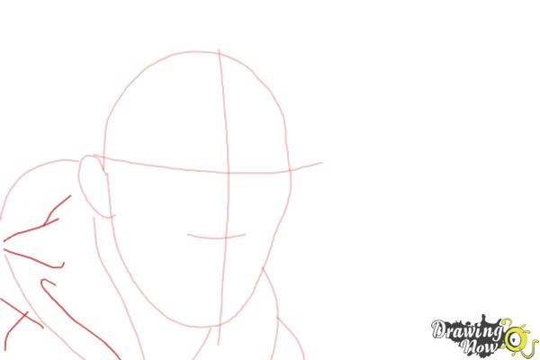How to Draw Benedict Cumberbatch - Step 4