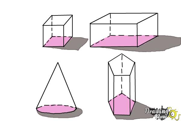 How To Draw Three Dimensional Shapes Drawingnow