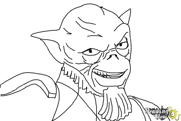How to Draw Zeb, The Muscle from Star Wars Rebels - Step 10