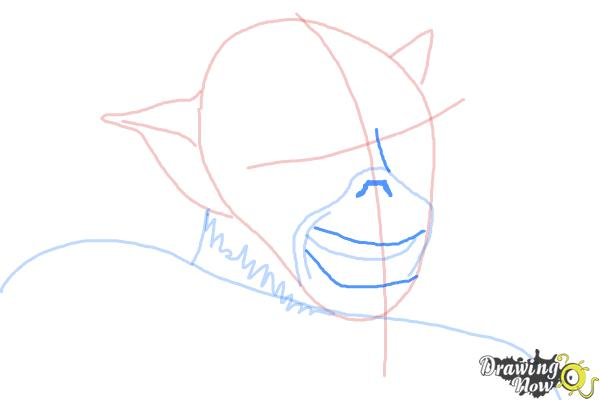 How to Draw Zeb, The Muscle from Star Wars Rebels - Step 6