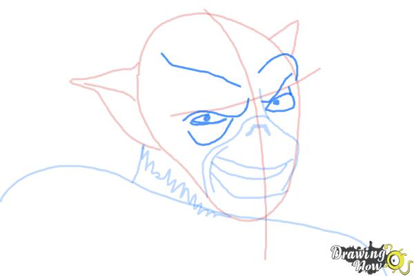 How to Draw Zeb, The Muscle from Star Wars Rebels - Step 7