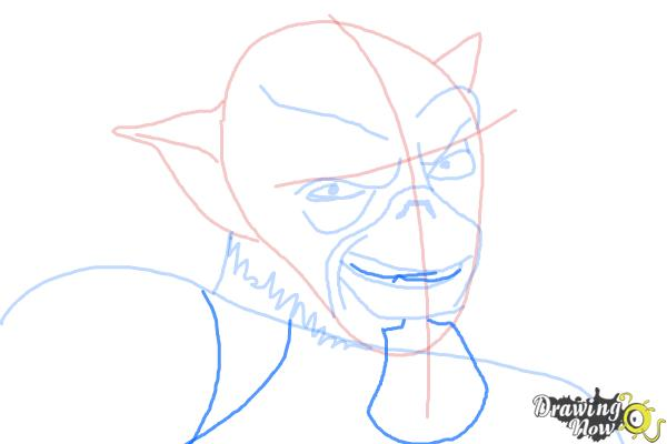 How to Draw Zeb, The Muscle from Star Wars Rebels - Step 8