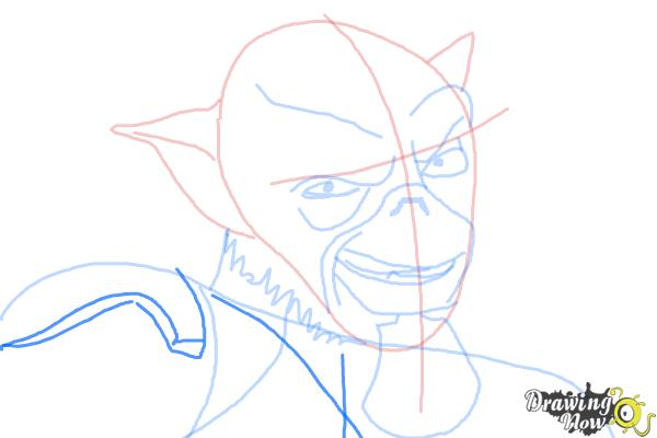 How to Draw Zeb, The Muscle from Star Wars Rebels - Step 9