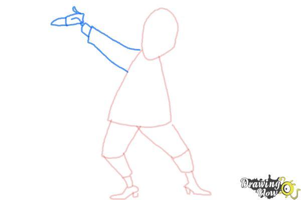 How to Draw Beetlejuice - Step 5