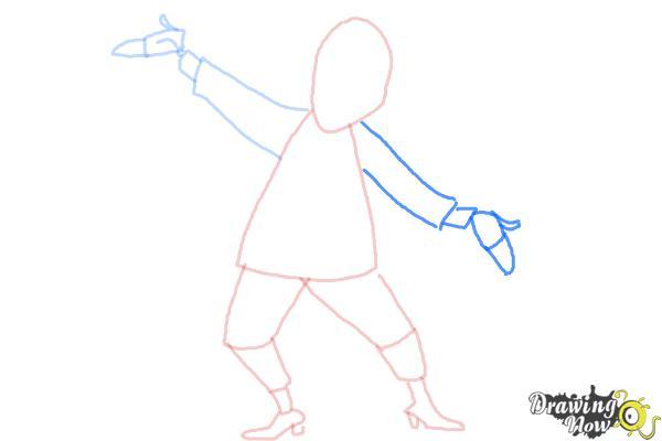 How to Draw Beetlejuice - Step 6