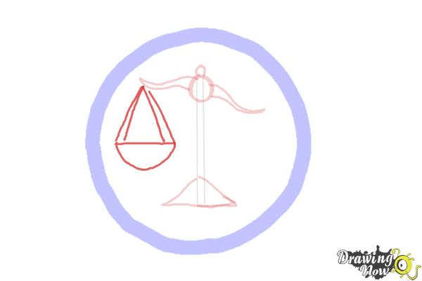 How to Draw Candor, The Honest Logo from Divergent - Step 4