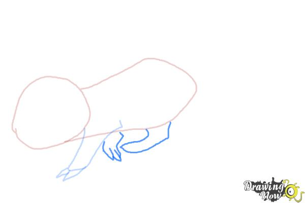 How to Draw an Anime Rat - Step 4
