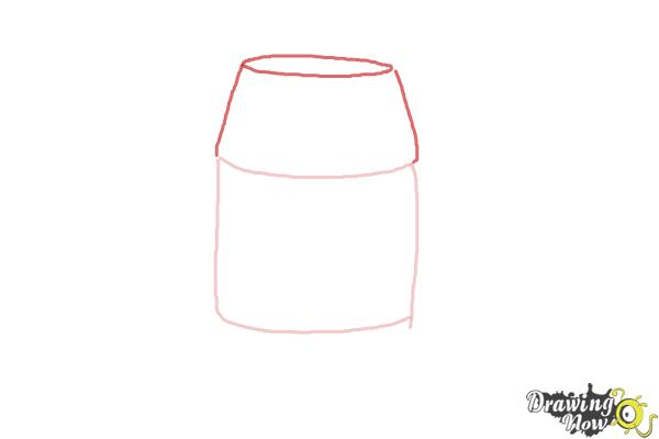 How to Draw Chopper, Grumpy Astromech Droid from Star Wars Rebels - Step 2
