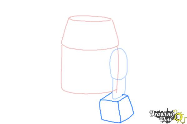 How to Draw Chopper, Grumpy Astromech Droid from Star Wars Rebels - Step 4