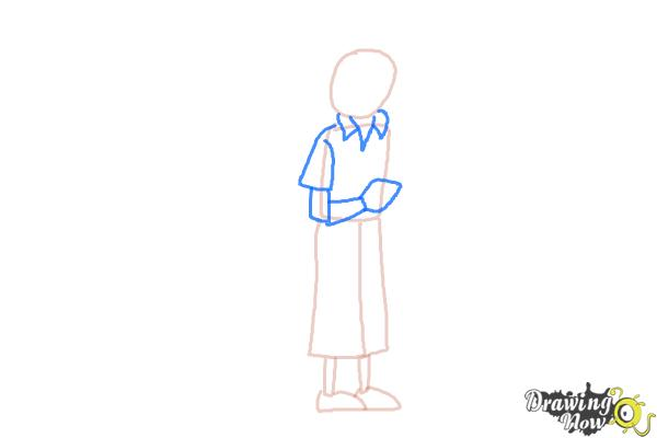 How to Draw Tintin And Snowy from The Adventures Of Tintin - Step 4
