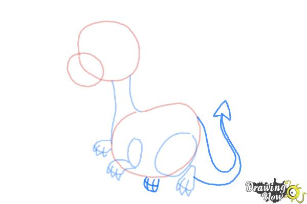 Image of: Toothless Dragon How To Draw Cute Dragon Step Drawingnow How To Draw Cute Dragon Drawingnow
