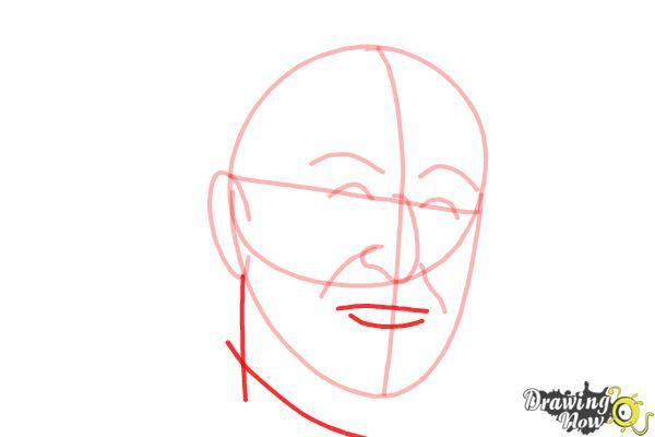 How to Draw Dr. Seuss - Step 6
