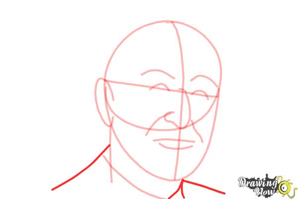 How to Draw Dr. Seuss - Step 7