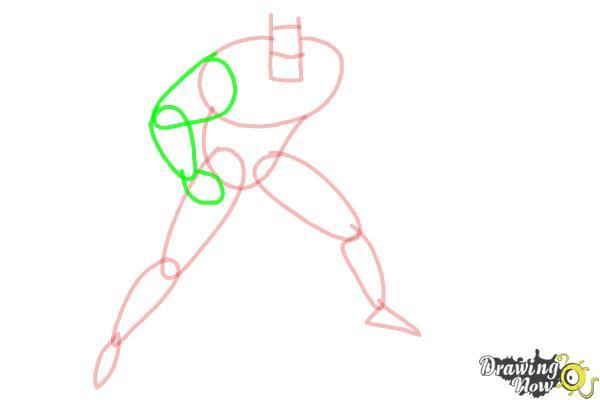 How to Draw Batman Step by Step - Step 4