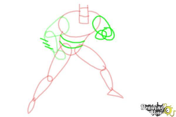 How to Draw Batman Step by Step - Step 5