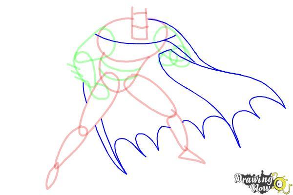 How to Draw Batman Step by Step - Step 6