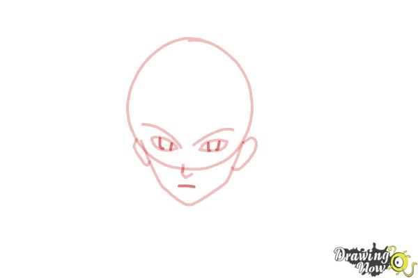 How to Draw Shu Ouma from Guilty Crown - Step 5
