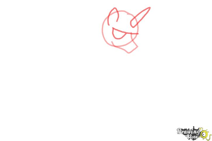 How to draw Shining Armor from My Little Pony Friendship is Magic - Step 2