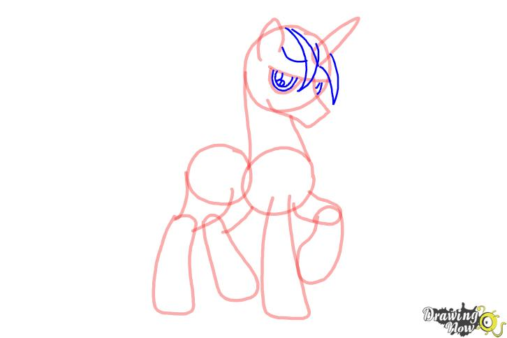 How to draw Shining Armor from My Little Pony Friendship is Magic - Step 6