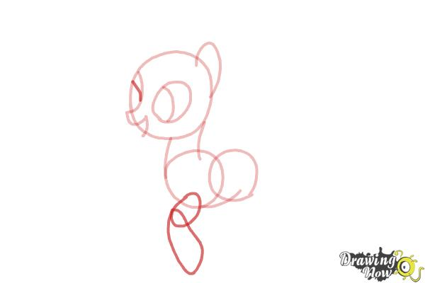 How to Draw Flitter from My Little Pony Friendship Is Magic - Step 5