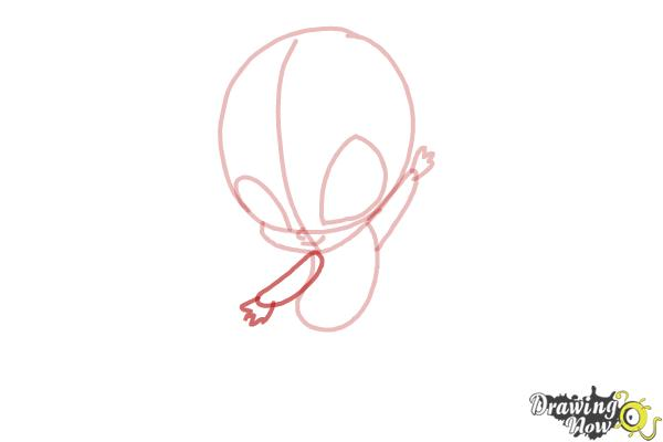 How to Draw Bloom'S Pixie, Lockette from Winx - Step 5