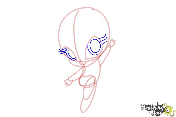 How to Draw Bloom'S Pixie, Lockette from Winx - Step 7