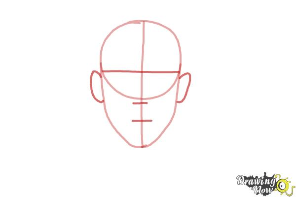 How to Draw Faces Step by Step - Step 2