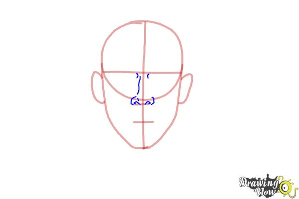 How to Draw Faces Step by Step - Step 3