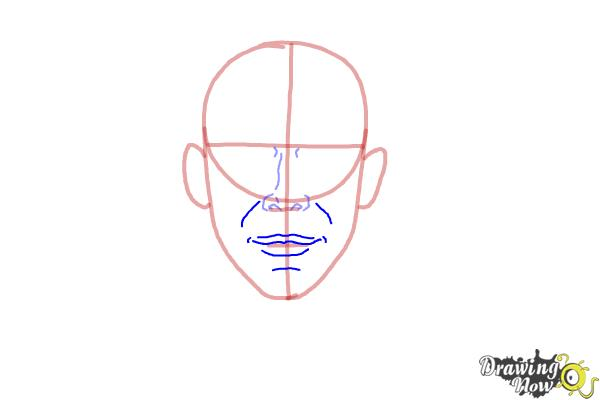 How to Draw Faces Step by Step - Step 4