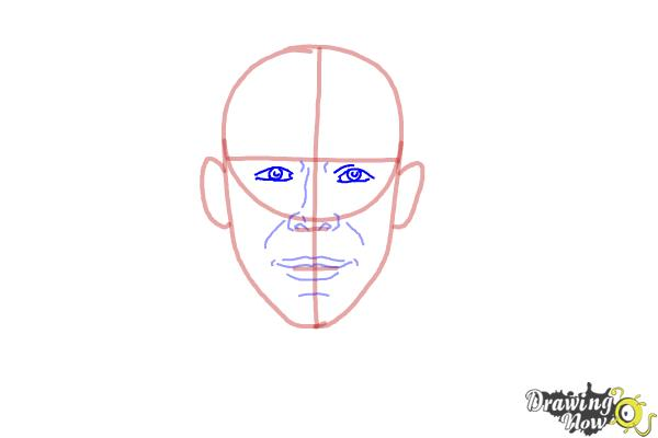 How to Draw Faces Step by Step - Step 5