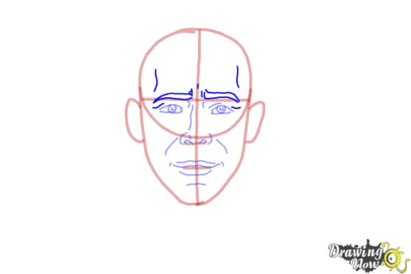 How to Draw Faces Step by Step - Step 6