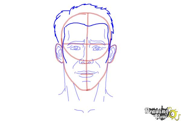 How to Draw Faces Step by Step - Step 9