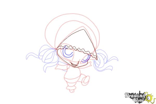How to Draw Aisha'S Pixie, Piff from Winx - Step 10