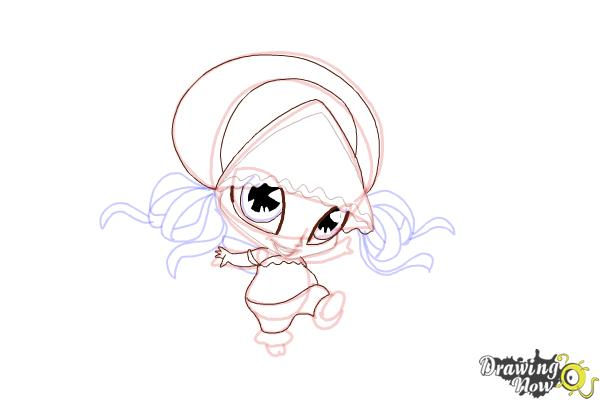 How to Draw Aisha'S Pixie, Piff from Winx - Step 11