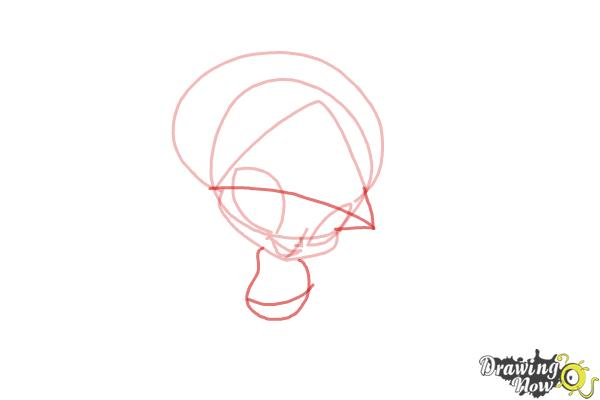 How to Draw Aisha'S Pixie, Piff from Winx - Step 4