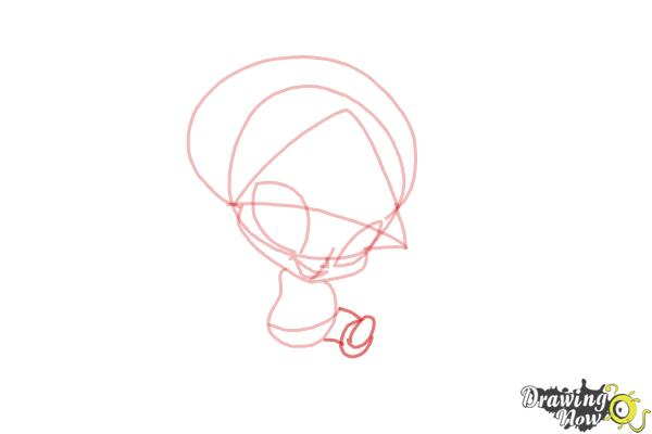How to Draw Aisha'S Pixie, Piff from Winx - Step 5