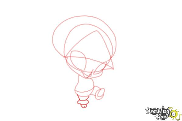 How to Draw Aisha'S Pixie, Piff from Winx - Step 6