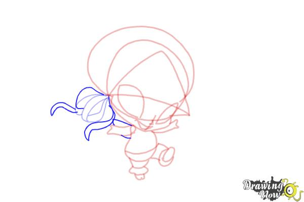 How to Draw Aisha'S Pixie, Piff from Winx - Step 8