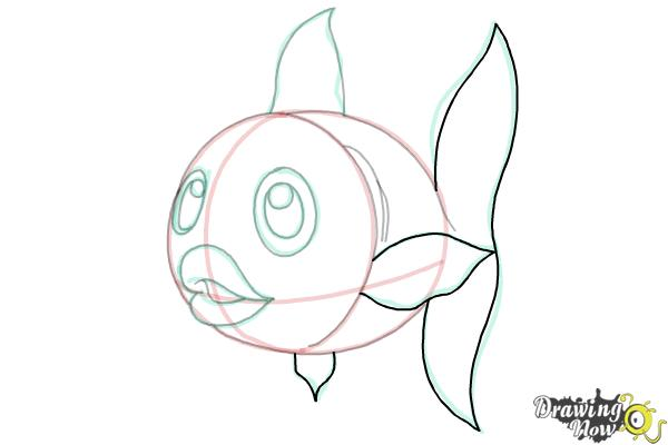 How to Draw a Fish Step by Step - Step 11