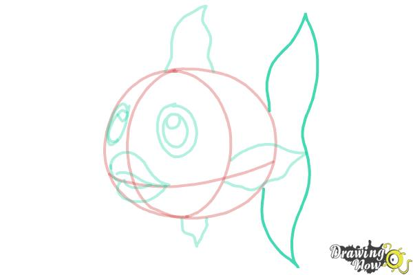 How to Draw a Fish Step by Step - Step 7