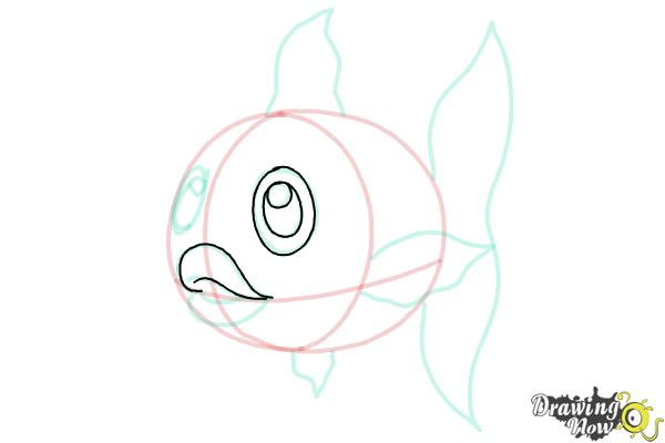 How to Draw a Fish Step by Step - Step 8