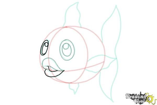 How to Draw a Fish Step by Step - Step 9