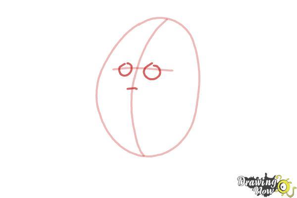 How to Draw Humpty Dumpty - Step 3