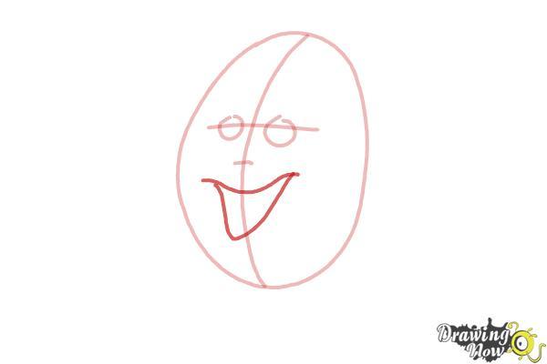 How to Draw Humpty Dumpty - Step 4